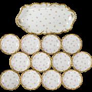 Antique Laviolette Limoges Berry Set