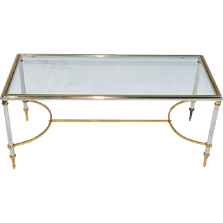French Coffee Table Mid Century Modern 1950s