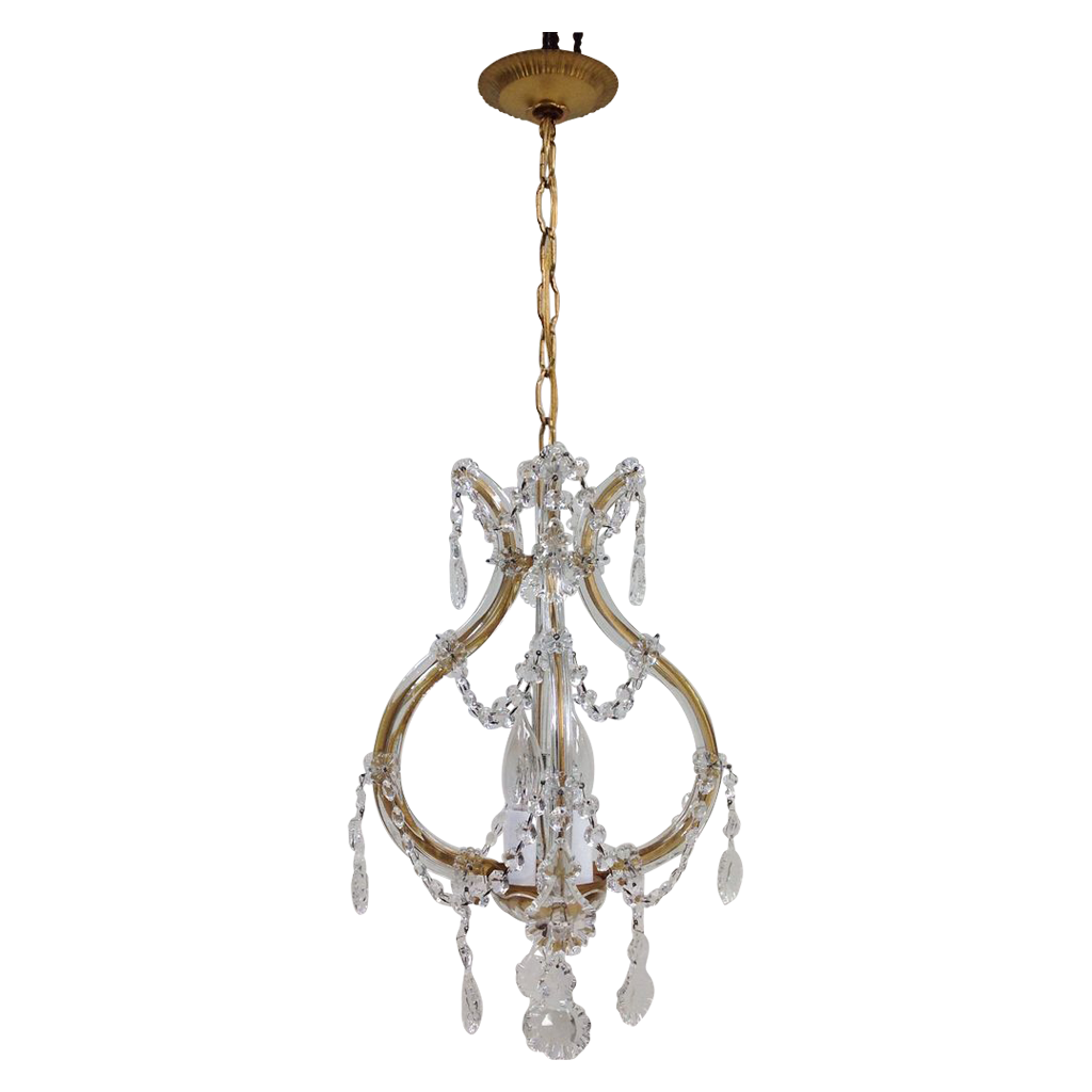 Maria Theresa 4-Light Chandelier - Petite