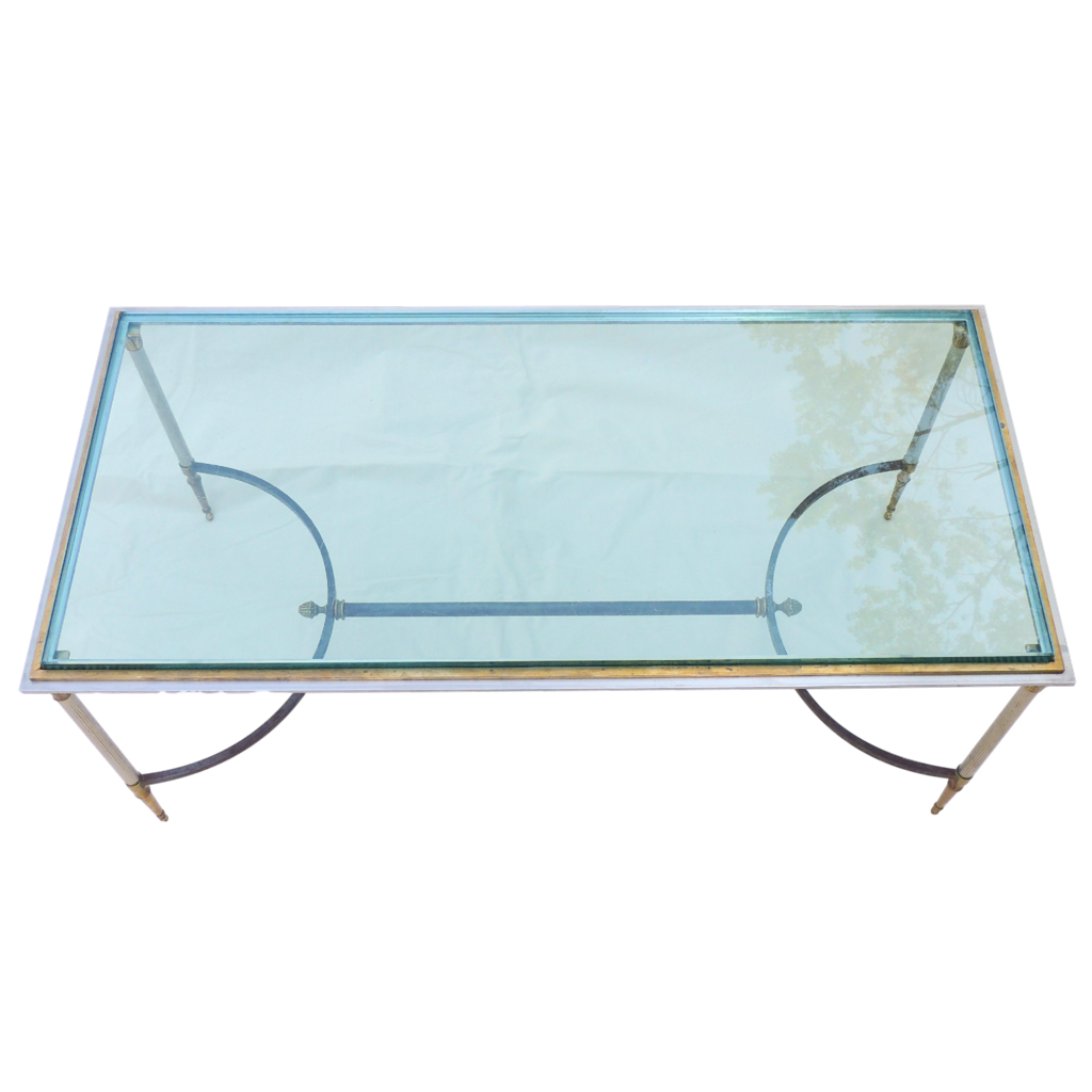 Jansen Coffee Table Maison Jansen French Coffee Table Original Glass From Tolw On