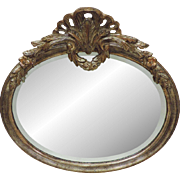 Vintage La Barge Italian Mirror - Carved Wood/Beveled Mirror