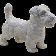Large Hubley Sealyham Terrier Dog Doorstop