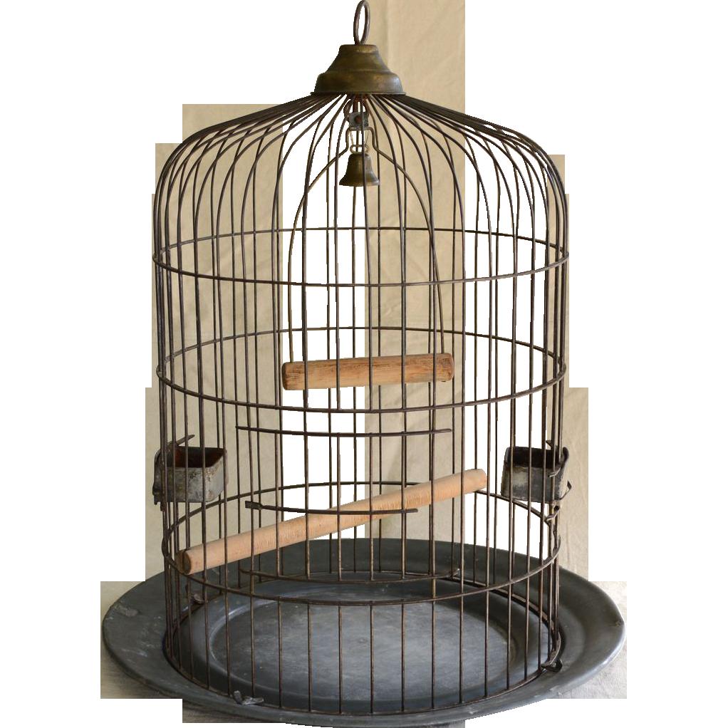 Large Antique Birdcage O.Lindemann Co