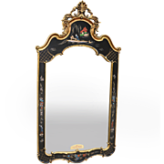 Vintage Ornate Carolina Chinoiserie Mirror