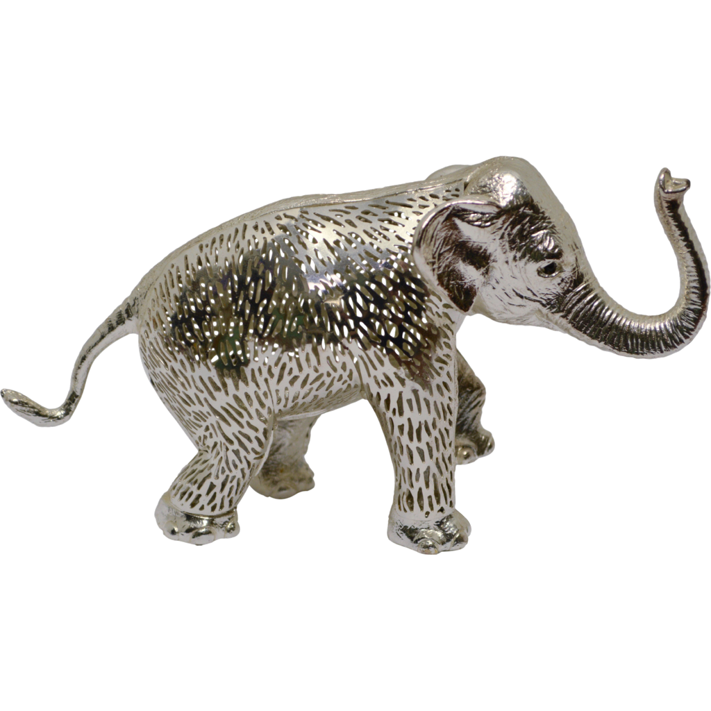 Christofle Lumiere Elephant Silverplate - Large