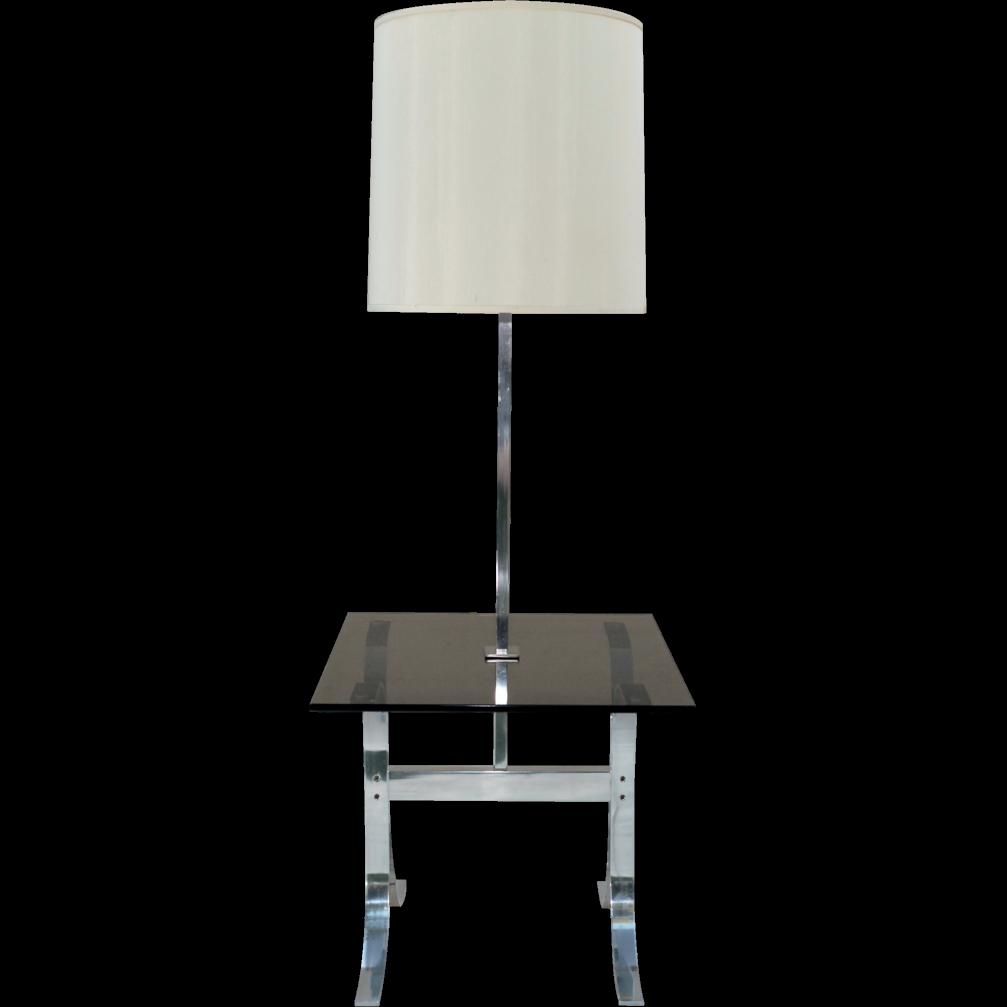Mid-Century Modern Lamp Table