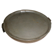 19th Century Pewter Warming Plate, James Dixon, Sheffield