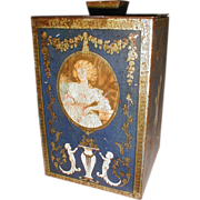 Lovely British Biscuit Tin, TEA CADDY, MacFarlane Lang & Co.