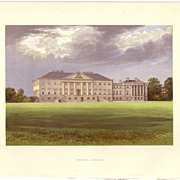 British Ancestral Home Xylography NOSTAL PRIORY F.O. Morris