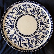 "15.5"" Charger Coalport's Japanese Grove, Birds & Bamboo"