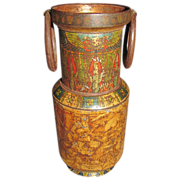 Circa 1924 Huntley & Palmers Biscuit Tin, EGYPTIAN VASE