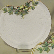 Beautiful White Porcelain Salad or Dessert (8 plates Available.)