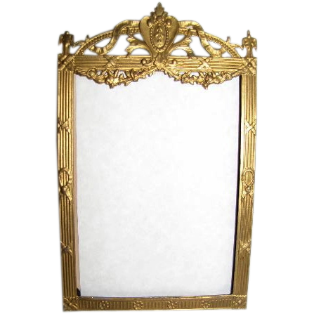 Lovely Antique Brass Table-Top Photograph Frame, Classical