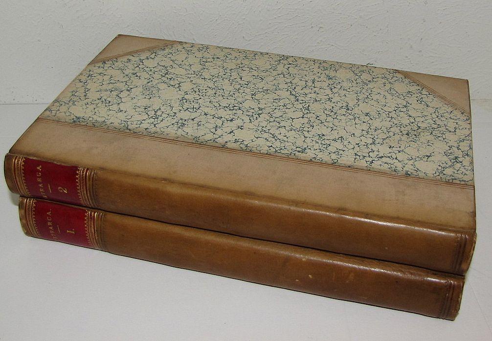 "Lovely 2 Volume Set of Books, ""Le Rime"" Di M. Francesco Petrarca"