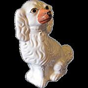 Large Single Staffordshire Dog (Spaniel), Painted Eyes