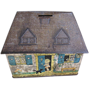 Great Collectible Crawford Biscuit Tin, Bicky House Money Bank