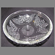 Lovely EAPG Low Sauce Dish, BARBERRY, (12 Available)