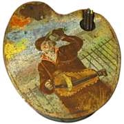 Highly Sought Huntley & Palmers Biscuit Tin, ARTIST, ca 1900