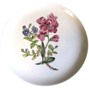 Lovely Floral Plate, Royal Cauldon, Woodstock, SWEET ROCKET