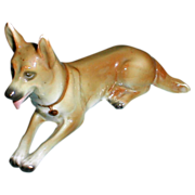 Great Collectible Dog Sitzendorf German Shepherd
