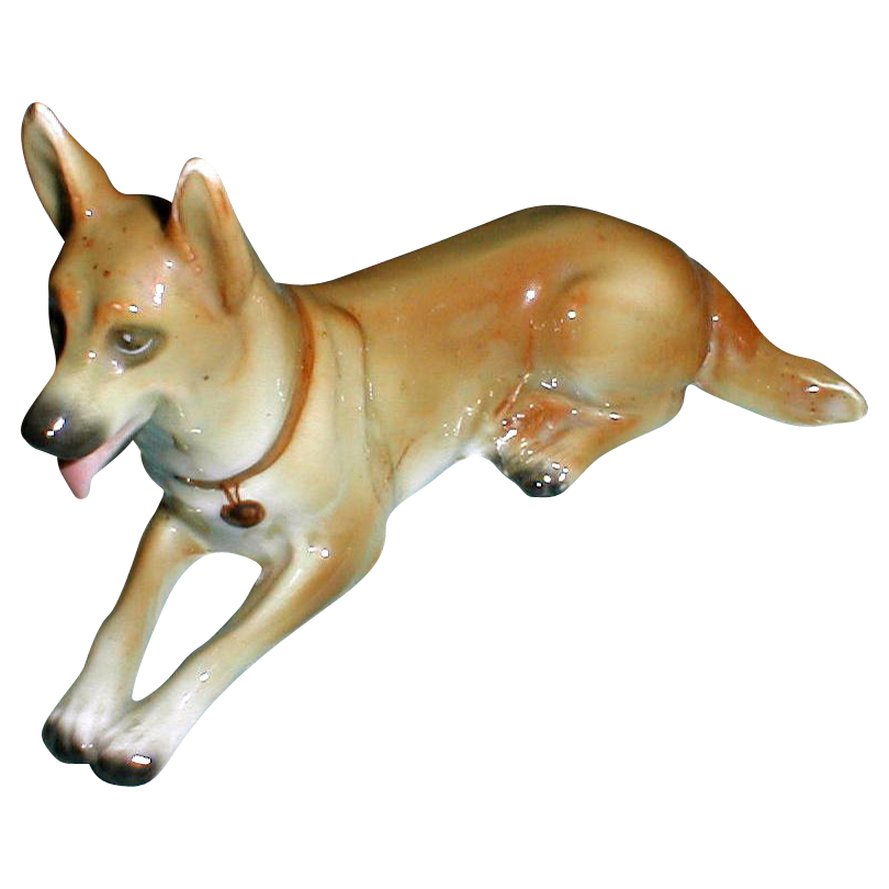 Great Collectible Dog Sitzendorf German Shepherd