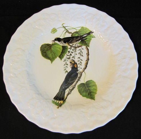 "Lovely Vintage Alfred Meakin Bird 9"" Plate, KING BIRD #79"