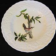 """Lovely Vintage Alfred Meakin Bird 9"""" Plate, BESWICK'S WREN #18"""