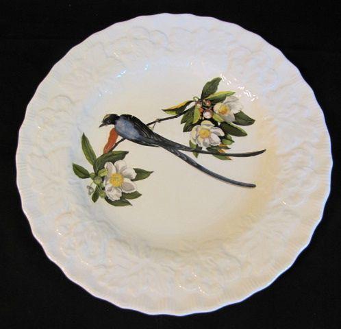 "Lovely Vintage Alfred Meakin Bird 9"" Plate, FORK-TAILED FLYCATCHER #168"