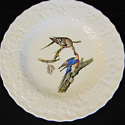 "Lovely Vintage Alfred Meakin Bird 9"" Plate, PASSENGER PIGEON #62"
