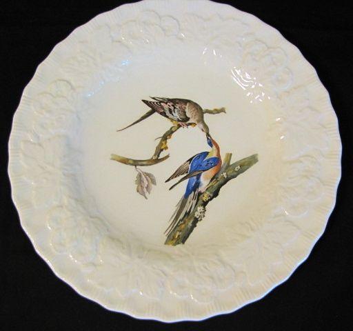 "Lovely Vintage Alfred Meakin Bird 9"" Plate, PASSENGER PIGEON #62"