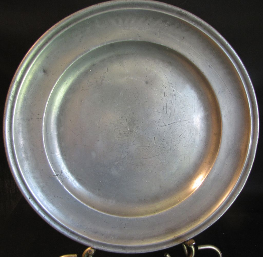 Antique French Pewter Charger 11 1 4 Hallmarked Judy S & Antique Pewter Plates | Best 2000+ Antique decor ideas