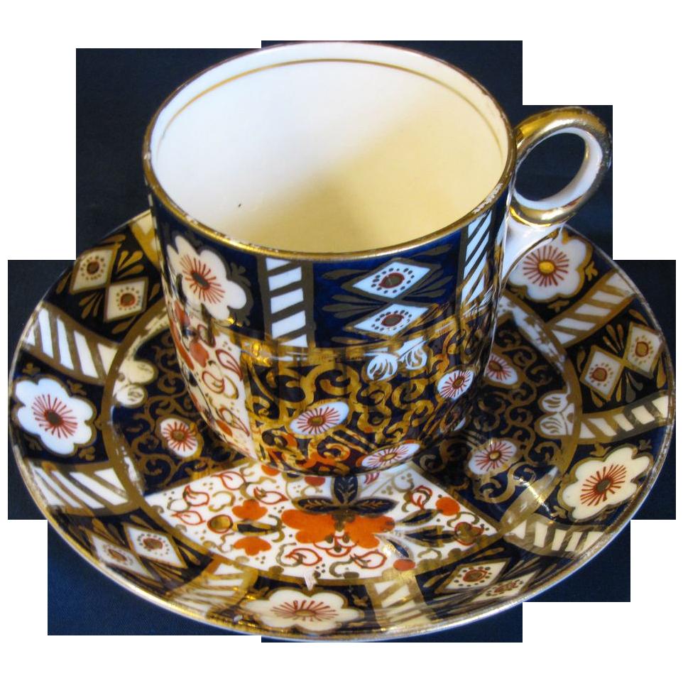 Lovely Vintage Imari Porcelain Cup & Saucer Set, 10 Available