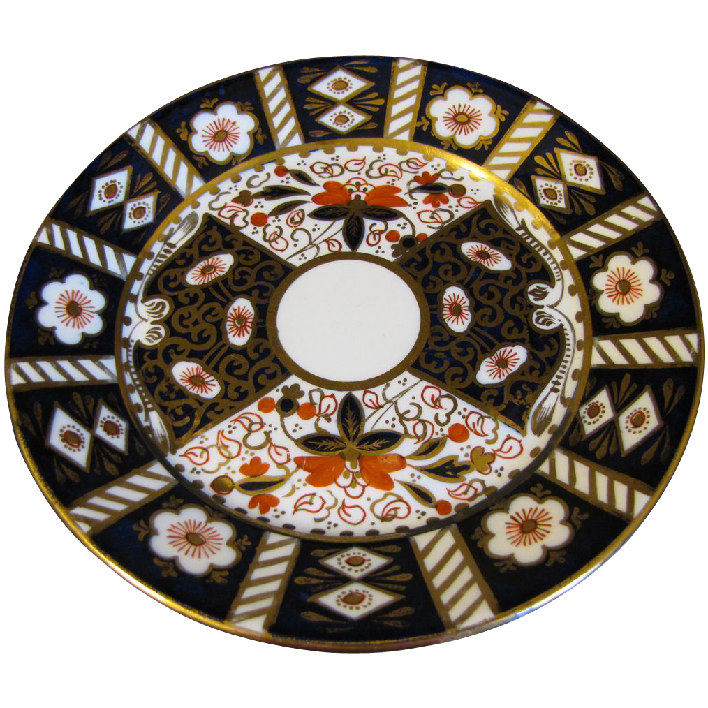 "Lovely Vintage Imari Porcelain 7"" Dessert Plate, 9 Available"