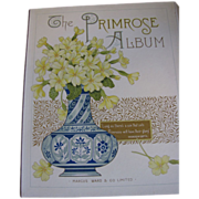 Lovely Victorian Photograph Album, The PRIMROSE Album