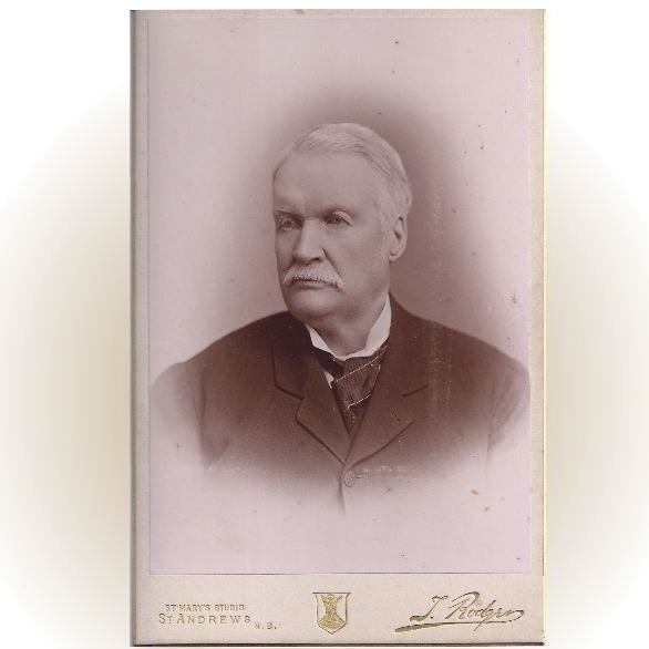 Cabinet Photograph Card, Distinguished Older Gentleman