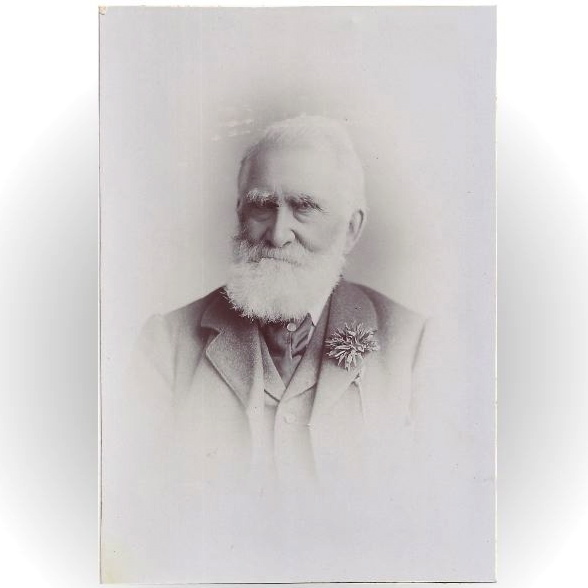 Cabinet Photograph Card, Elderly Gentle, Great Beard