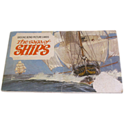 An Album of Picture Cards, The Saga of Ships, Brooke Bond Tea