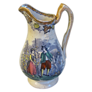 Early Staffordshire Pottery Milk Pitcher