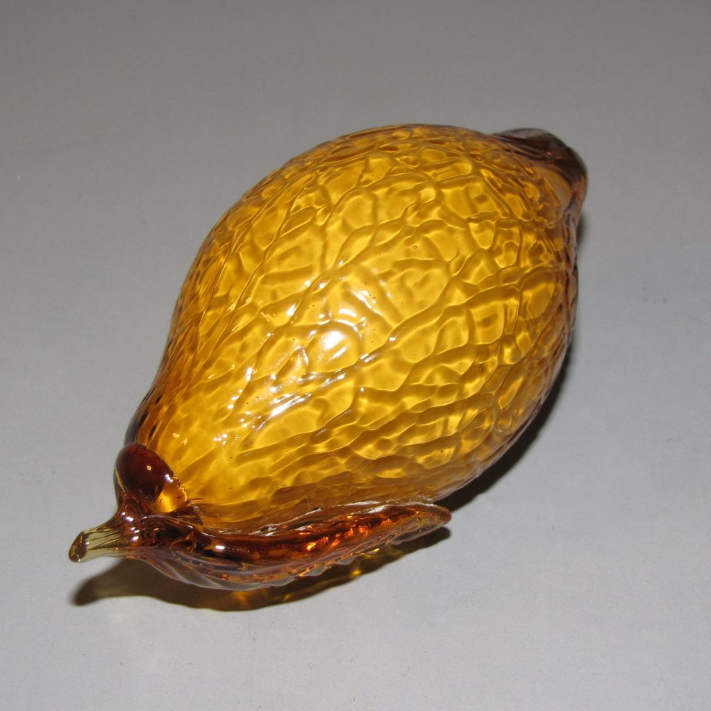 Lovely Piece of Art Glass Fruit/Vegetable