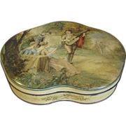 Lovely Heart Shaped Vintage Biscuit Tin, SERENADE. 1933