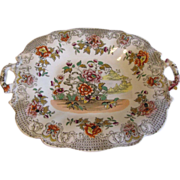 Lovely Early 19th Century Dessert Cake Plate, 2 Available