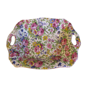 Lovely Vintage SUMMERTIME Chintz Dish, Royal Winton