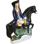 19th C. Staffordshire Figure on Horse, Dick Turpin