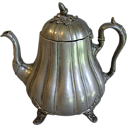 19th Century Pewter Teapot, H.M. Broadmead & Co.