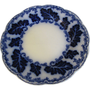 "Lovely 7"" Flow Blue Plate NORMANDY Johnson Bros."