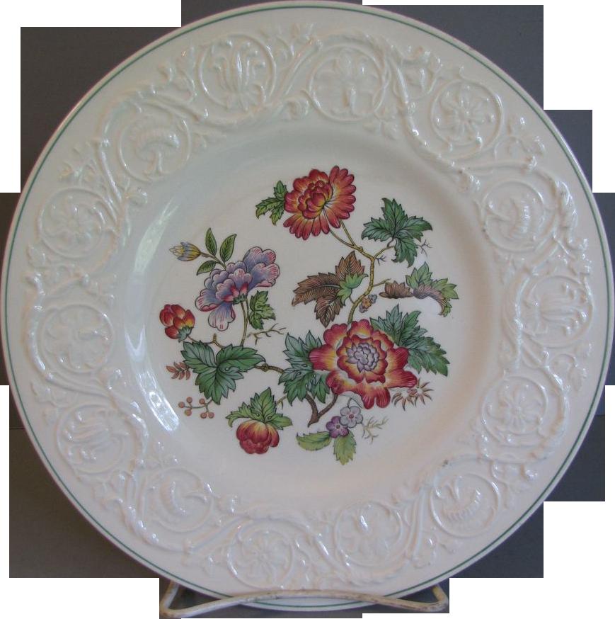 Vintage Wedgwood TAPESTRY Dinner Plate