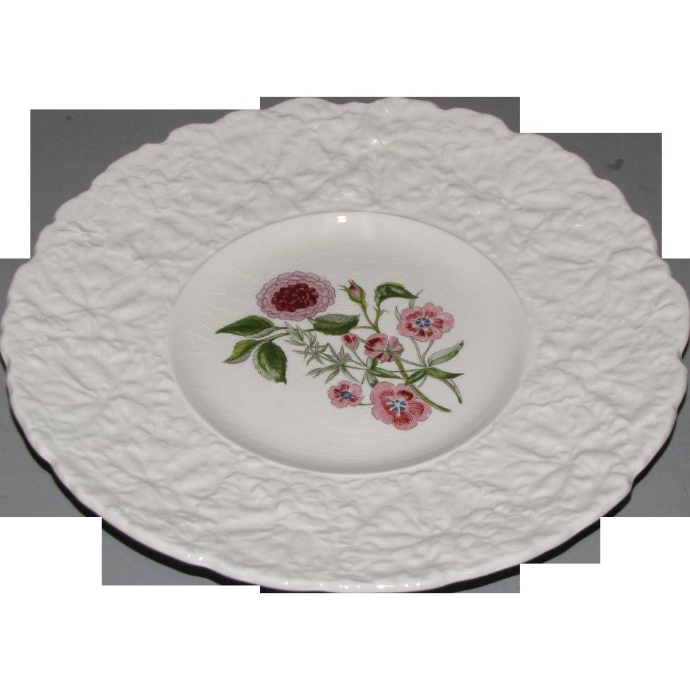 Lovely Floral Plate, Royal Cauldon, Woodstock, PIMPERNEL