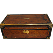 Large 1864 Presentation Writing Box, Lap Desk
