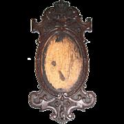 Lovely Regal Carved Frame, Oval Opening