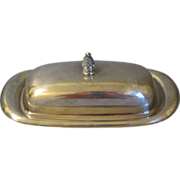 Vintage Wm. Roger Silver Plated Butter Dish